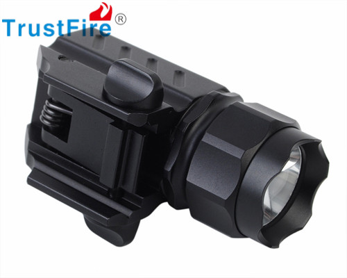 TrustFire G01 CREE XP-G R5 LED 2 Modes 320 Lumens Tactical Hunting Flashlight Rifle Shotgun Weapon Light Black by CR123