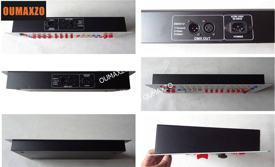 Controlador Consoles DJ Dmx 512 Controlador de Equipamentos