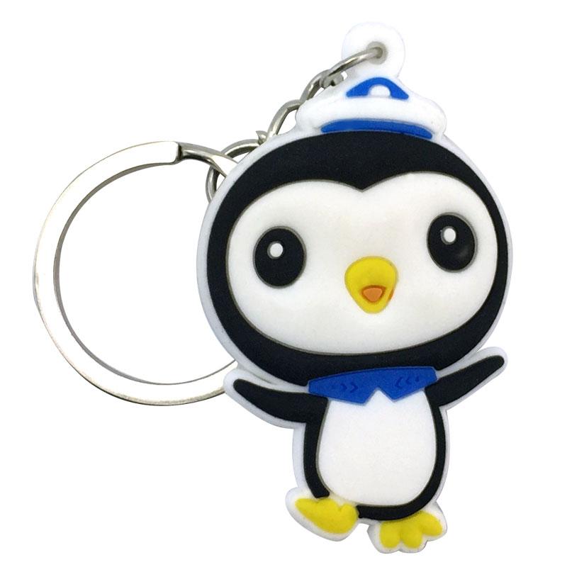 3PCS Octonauts Chain Key Ring Kids Toy Key chain Key Holder Charms Small Gift