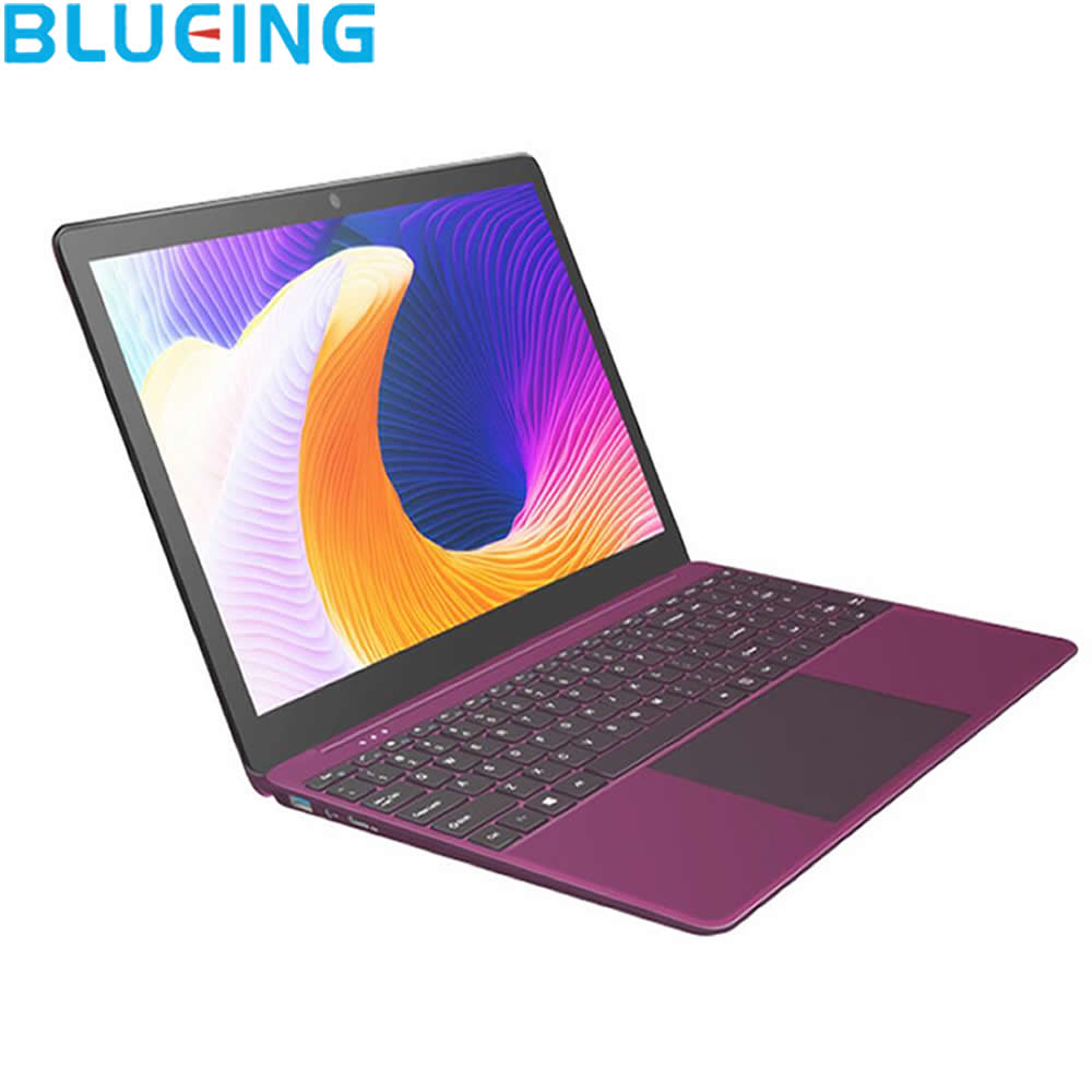 2019 New Latpops 15.6 Inch Purple Metal Shell Laptop 6G 64G SSD HD 1920*1080 Dispaly Windows 10  WIFI Bluetooth Free Shipping