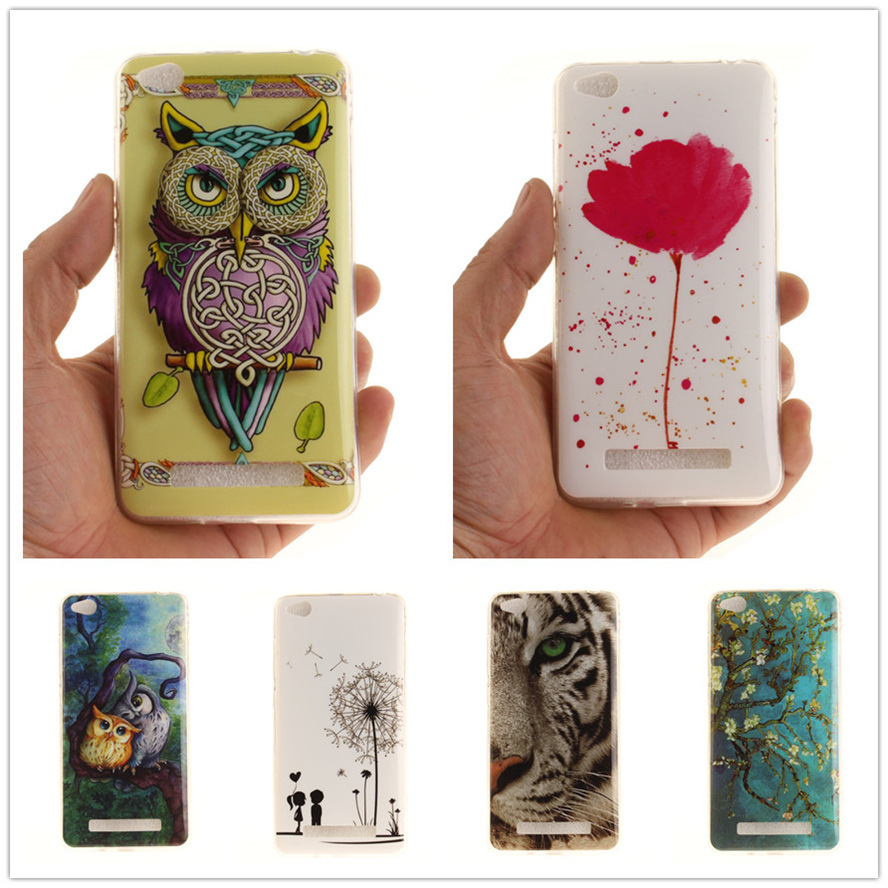 For Coque Xiaomi Redmi 4A DIY Case Soft Plastic TPU Cover Elsa Space Silicone Phone Cases For Xiaomi redmi 4A Redmi4A Case Cover