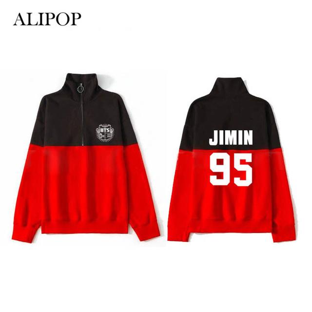 BTS Album Retro Zipper Hoodie