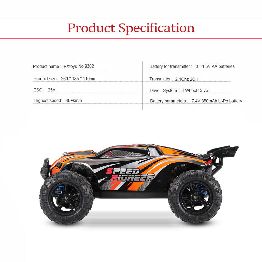 Car Rc High Speed Rc Car 4wd Off Road Racing