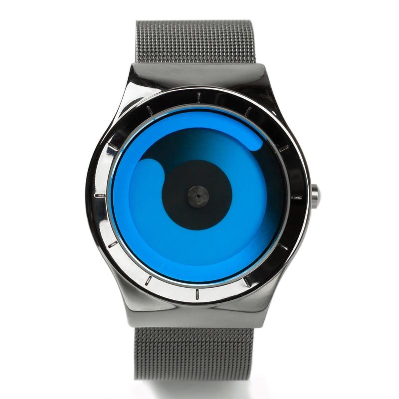 Finda Brand New 2018 Kreatywne Obrót Mężczyźni Zegarki Pasek - Męskie zegarki - Zdjęcie 3