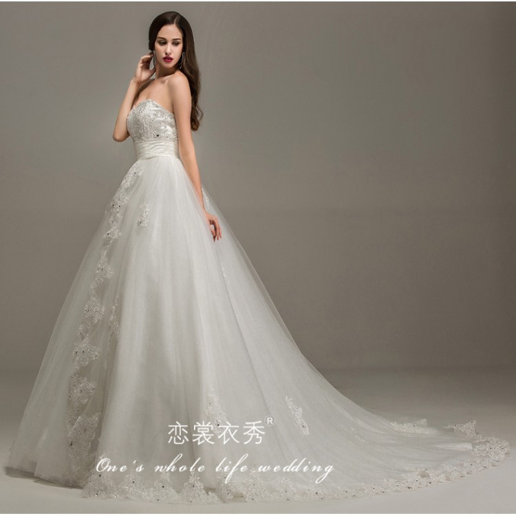 2015 Real Photo Romantic Affordable Bridal Gowns Australia