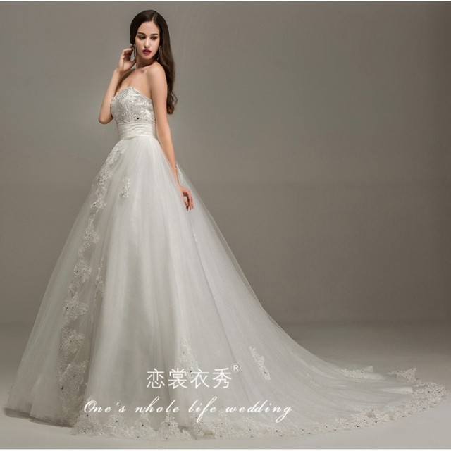2015 Real Photo Romantic Affordable Bridal Gowns Australia Summer ...