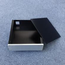 Бриз аудио-алюминиевое шасси 2207 короткие предусилителя/усилитель для наушников случай