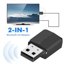 ZF-169 2 in 1 USB Wireless Bluetooth Audio Adapter TV PC Receiver Transmitter(China)