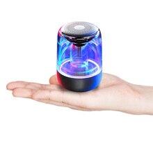 Portable Wireless Bluetooth Speaker Bass Stereo Paring Multiple Colors Lights Waterproof LED Luminous HiFi Audio
