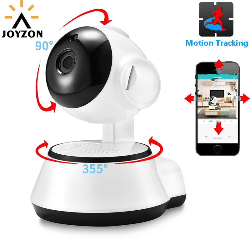 Security & Protection Hjt Audio H.264 1080p Full-hd Wireless Wifi Ptz Ip Camera Cctv Cam 2.0mp Baby Care Security Fish Eye Wide Angles Sd Storage