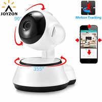 Minicámara de vigilancia de seguridad para el hogar con visión nocturna inalámbrica y seguimiento automático con cámara IP y Monitor de bebé 1080P HD