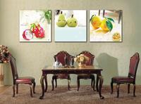 3 Piece (Không Có Khung) trái cây Hiện Đại Home Tường Hàng Thủ Công Nghệ Thuật Sticker Decor Canvas ảnh Nghệ Thuật HD In Bức Tranh Vải Arts ZBP-0297