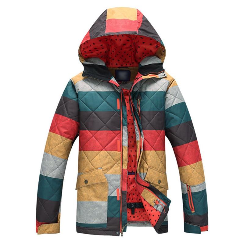 Prix pour Ski-vestes hommes en plein air escalade camping sport manteau épais vent d'hiver chaud et imperméable veste de ski manteau augmenter code S-XL