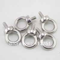 5pcs Marine Grade Boat Stainless Steel Lifting Eyes Bolts M10 Metric Threaded