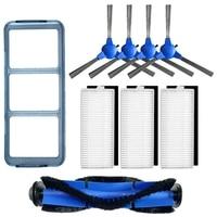 Roller Pinsel + Seite Pinsel + Hepa + Primäre Filter Für Eufy 11 S Robovac 30 Robovac 30C 15C Vakuum reiniger Kehrmaschine Zubehör|Staubsauger-Teile|Haushaltsgeräte -
