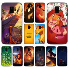 Hakuna Matata Lion King soft phone cover case for Samsung Galaxy S6 S7 S8 S9 S10e Plus Note 8 9 CASES(China)