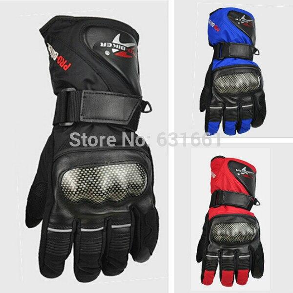 Winter Motorcycle Moto Gloves Pro biker Waterproof