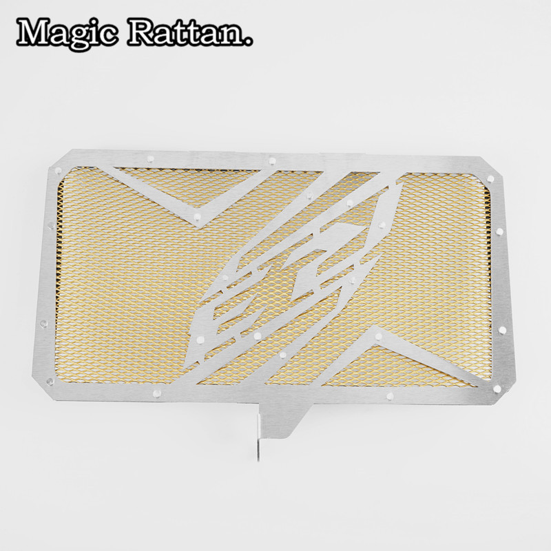 4 Color Motorcycle Radiator Grille Guard Cover Protector For YZF-R3 2015 2016