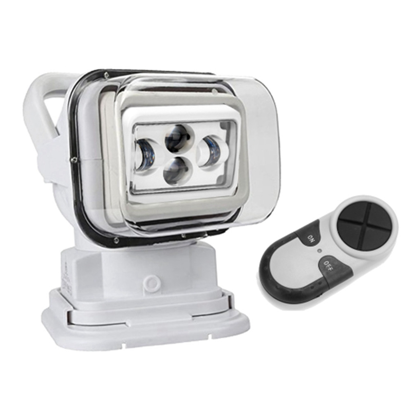 цена на Yait 60W 50W 12V 7'' inch LED Remote Controller Spotlight Wireless LED Search Light For Fishing Hunting Boat Off Road ATV