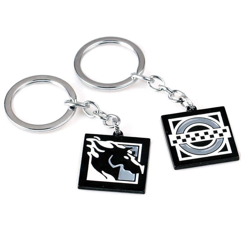 Detail Feedback Questions About Game Rainbow Six Siege 6 Keychain