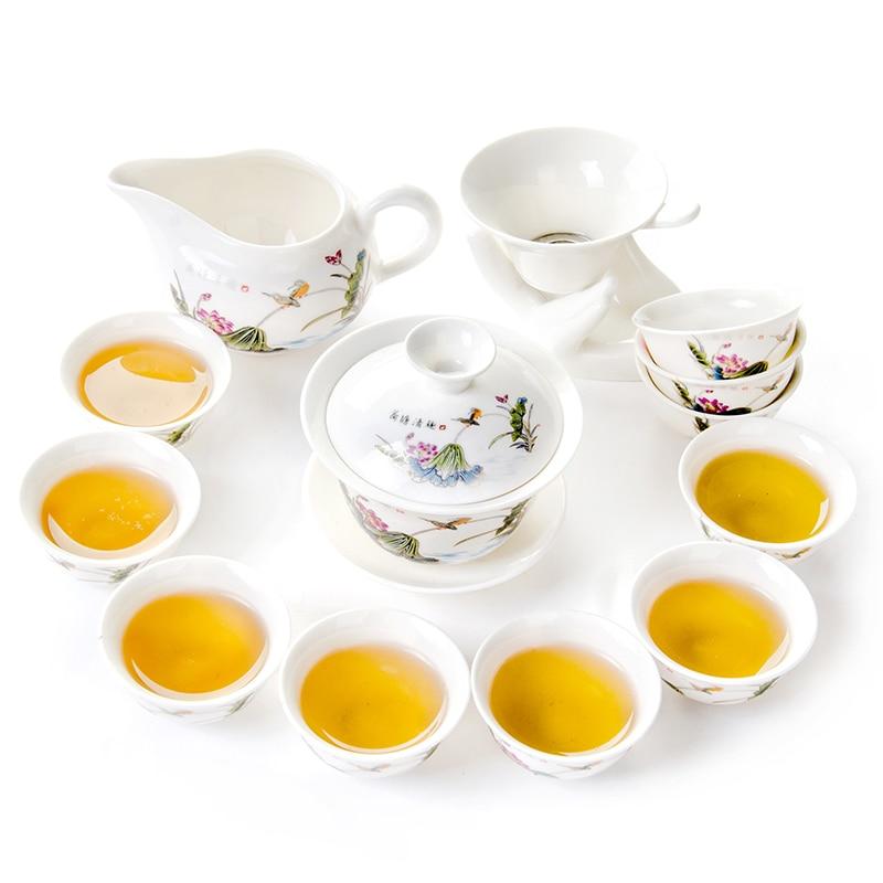 Taza de té de cerámica china Juegos de té de porcelana taza de té - Cocina, comedor y bar