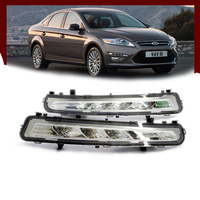 Nightlord 2x LED DRL Driving Daytime Running For 2010 2013 Ford MONDEO Day Fog Lamp Light