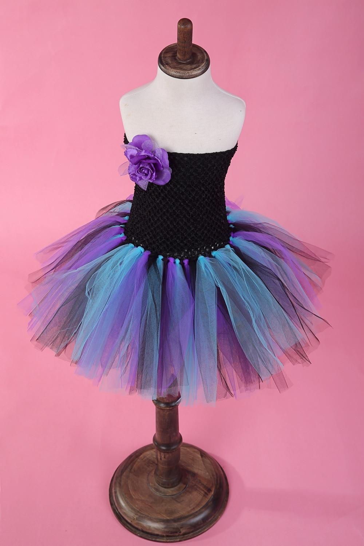 Comprar ahora Nueva Niñas Tutu partido Vestidos flor sin mangas bola ...
