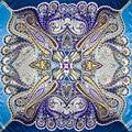 100% Silk Scarf Women Scarf Paisley Scarf Silk Bandana 2017 Hijab Hot Headscarf Print Middle Square Silk Scarf Wrap Lady Gift