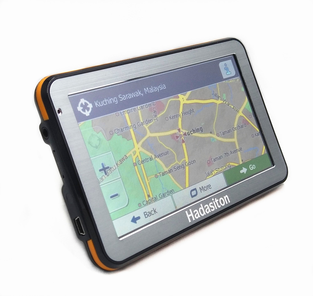 "Hot sale 5"" Touch Screen Car GPS Navigation CPU800M 128M ..."