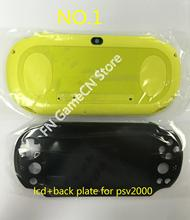 จอ LCD หน้าจอสัมผัสประกอบและ WIFI รุ่น faceplate ด้านหลังแผงด้านหลังสำหรับ PSVita 2000 Slim PSV 2000 psvita2000