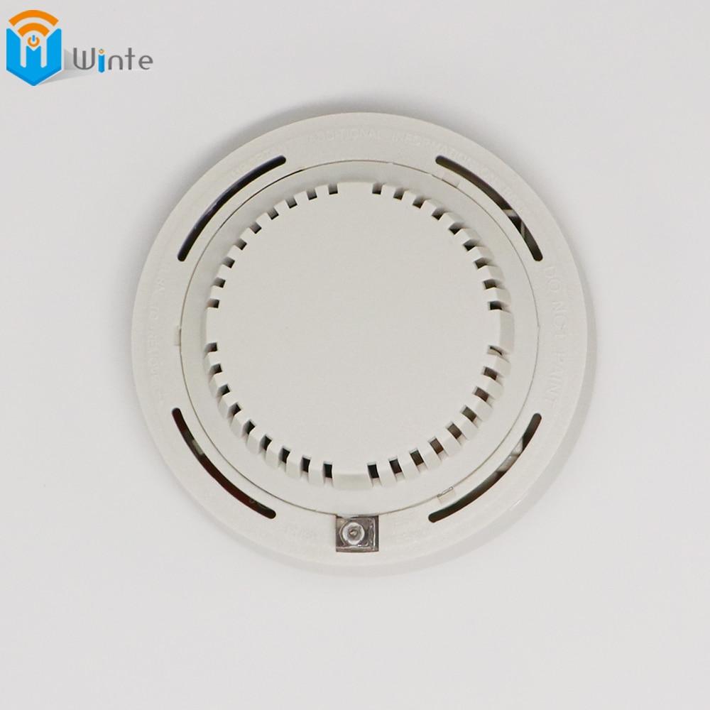 ФОТО Smoke Alarm Fire Sensor Alarm Alert Home Security System Smoke Detector The wired 12V network smoke detector smoke alarm DouWin