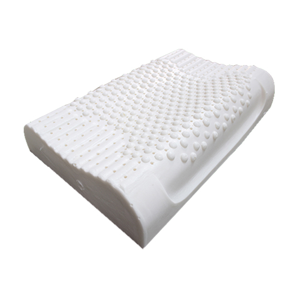 100 Natural Latex Pillow Cervical Vertebrae Health Care Orthopedic Anti Snore Massage Natural Latex Sleeping Pillow in Travel Pillows from Home Garden