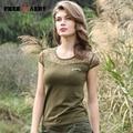 Women Lace T Shirt New Summer O-Neck Army Green Short Sleeves Cotton Womens Tops Fashion Harajuku 2017 Camisetas Feminina