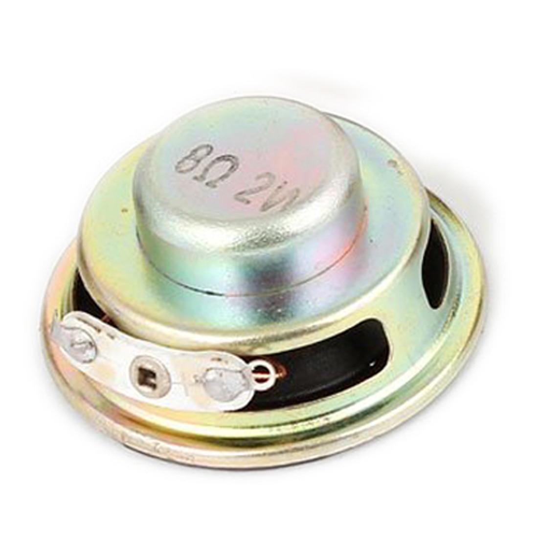 4 Pcs 36mm Dia Internal Speakers Magnet 8Ohm 2W For PC Laptop