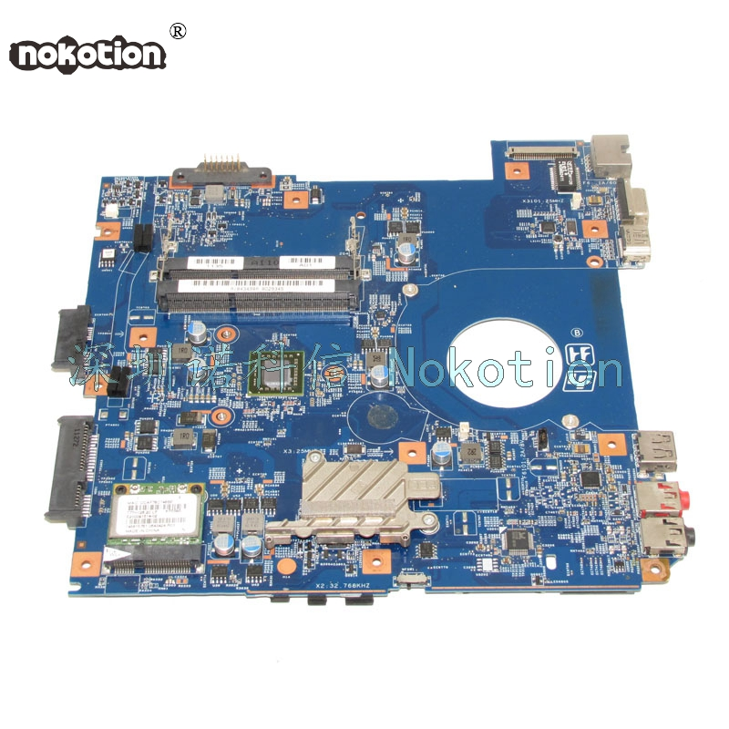 NOKOTION A1843494A MBX-253 48.4PL01.011 Laptop Motherboard For board Vaio VPCEK DDR3 Main board full test nokotion a1876092a da0hk6mb6g0 mbx 268 main board for sony vaio sve14 laptop motherboard ddr3 hd7600m video card
