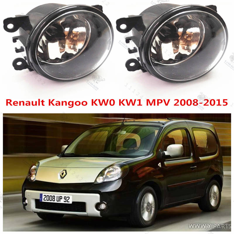 For Renault KANGOO BOX 2008-2015 Front Fog Lamps Lights Halogen Car Styling 1 SET 35500-63J02