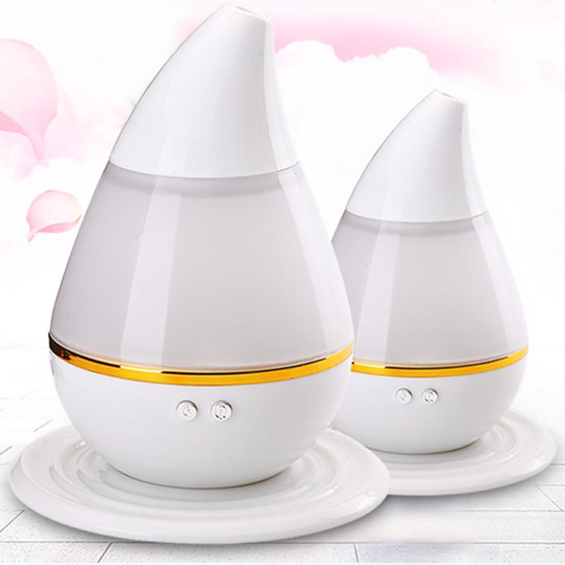 USB Ultrasound Air Humidifier Purifier 7Color Change LED Night Light Aroma Atomizer Moisturizing Skin Care Air Mist Maker ...
