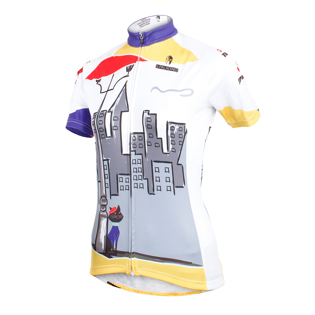 T shirt design quick delivery - Fast Delivery Women Tops Tees Building Cat Design Short Sleeve T Shirt Xs Xxxl White