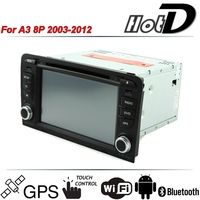 For Audi A3 8P 2003 2013 Car Multimedia DVD HD Player GPS Navigation Stereo Radio Audio