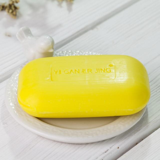 Yiganerjing Sulfur Soap Skin Conditions Acne Psoriasis Seborrhea Eczema Anti Fungus Bath  Whitening Soap Shampoo 3