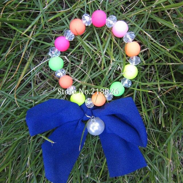 American Fashion Neon Butterfly knot bracelet  individuality Bracelet Stretch Bracelets