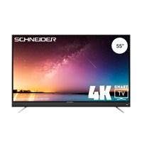 Schneider DLED TV UHD SMART 55 SCU712K SOUNDBAR Black