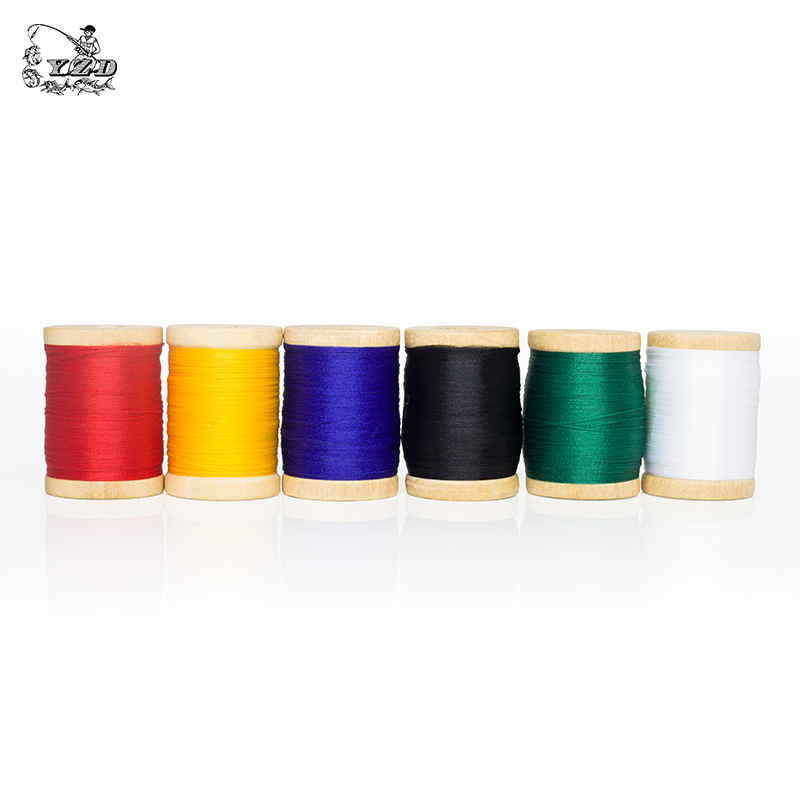 Image 4 - Promo Fly Tying Thread Materials  6 Color 0.3mm*150m Fly Fishing Material and Accessories Lure Making for Wet Dry Nymph Flies-in Fishing Lures from Sports & Entertainment