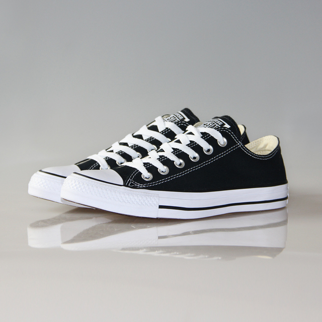 Original Converse classic all star canvas shoes men and women sneakers low classic Skateboarding Shoes 4 color 3