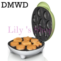 New High Quality Home Cake Machine Automatic Multifunction Machine Baking Pan Waffle Caker EU US Plug