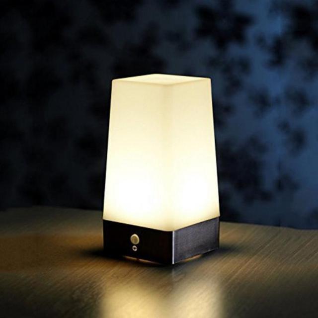 Retro LED Night Light Wireless PIR Motion Sensor Indoor/Outdoor  Battery-Operated Sensitive Portable
