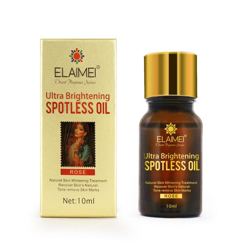 Rosa sin manchas aceites esenciales puntos oscuros Strentch eliminación de cicatrices brillo productos de cuidado de la piel