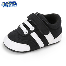Canvas Baby Shoes Infant Girls Soft Sole Shoes  0-18 months Newborns toddler first walkers shoes