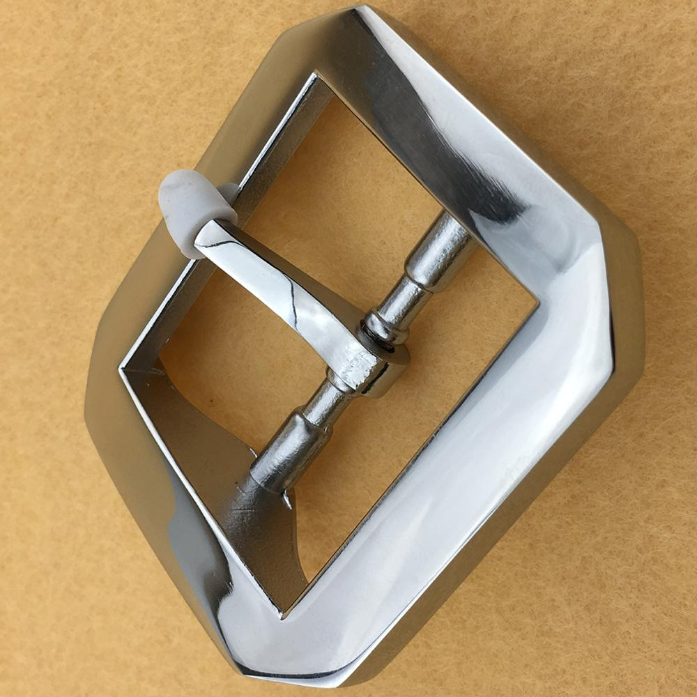 CUKUP Geometric Octagonal Sliver Belt Buckles Pin Style New Designer Brand Belts Heavy Stainless Steel Buckle Metal BRK030