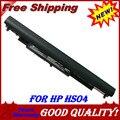 Jigu hs04 hstnn-lb6u 250 240 g4 de 4 células da bateria do portátil para hp 245 255 para pavilion 14-ac0xx 15-ac0xx notebook pc hstnn-lb6v hs03